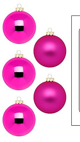 Palline Vivid Pink – WE Love Christmas – Magic by Inge – 30 pezzi/6 cm