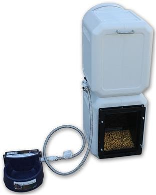 Cove Products K9 Kennels High Capacity Vault Dog Feeder & Watering System