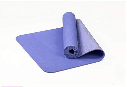 YanLong yogamat, milieuvriendelijke materialen, TPE-glijbescherming met hoge dichtheid, 183 x 61 x 0,6 cm, hypoallergeen en huidvriendelijk, ideaal voor yoga, pilates en fitness