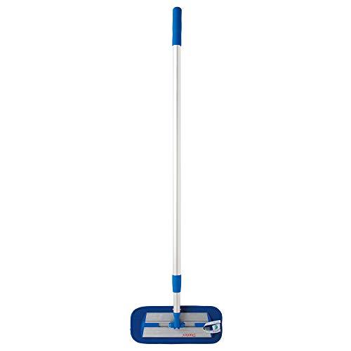 イーオクト MQ・Duotex 北欧 業務用 マイクロファイバー ブルー 幅30cm モップ 伸縮式(100-180cm) 床・窓・壁・天井掃除