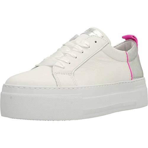 Calzado Deportivo para Mujer, Color Blanco, Marca ALPE, Modelo Calzado Deportivo para Mujer ALPE Deportiva Lona Sport Blanco