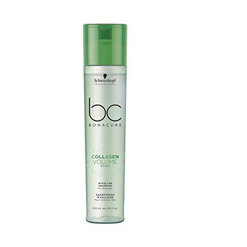 Schwarzkopf Professional BONACURE Collagen Volume Boost Micellar Shampoo, 3er Pack (3 x 250 ml)