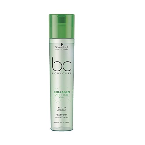Schwarzkopf Professional BONACURE Collagen Volume Boost Micellar Shampoo, 3er Pack (3 x 250 ml)