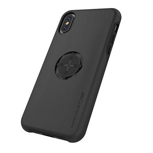 MORPHEUS LABS M4s Case für Apple iPhone X / XS, iPhone XS / iPhone X Hülle, Schutzhülle für iPhone 10 (Fahrradhalterung ist nicht inklusive), passend für M4s BikeMount / Fahrradhalterung, schwarz