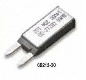 Automotive Circuit Breaker, CB212, 30A, 12V