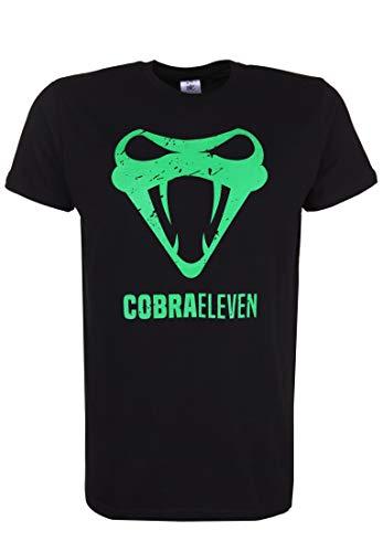 COBRAELEVEN – Camiseta para hombre de Erdogan Atalay con estampado Negro  XL