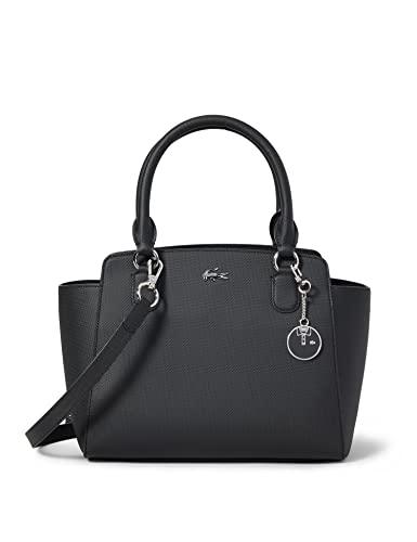 Lacoste - Nf2594dc, Bolsos totes Mujer, Negro (Black), 13.5x22x28 cm (W x H L)