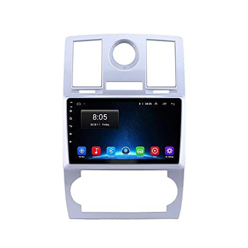 Android 10.0 coche estéreo 2 Din Radio Sat Nav para Chrysler 300C 2004-2011 navegación GPS 9'' pantalla táctil MP5 reproductor multimedia receptor video con 4G/5G WiFi Carplay