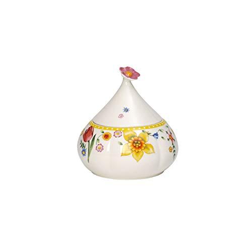 Villeroy & Boch Spring Awakening Zuccheriera, Porcellana, Multicolore