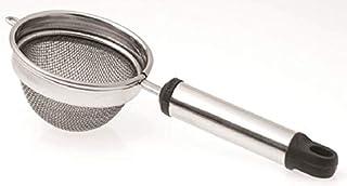 Raj Pipe Handle Tea Strainer, PHTS02, Silver, Steel