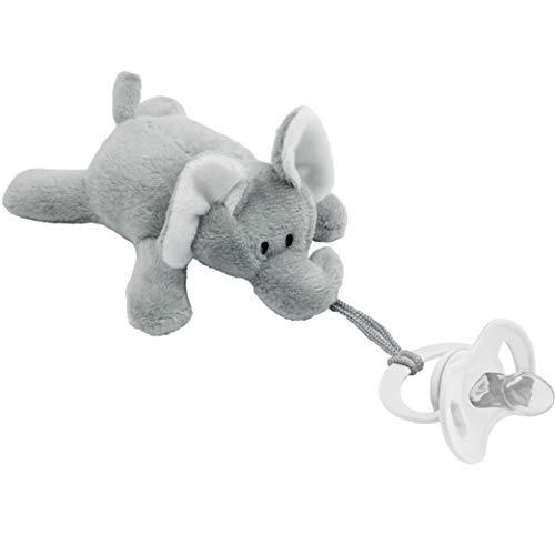 Meu Elefantinho Com Prendedor De Chupeta - Buba, Buba, Colorido