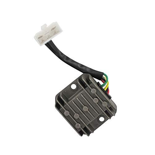 Xfight-Parts Regulador rectificador DC 8 1 conector 5 pines 4 tiempos 125 ccm YY125T-28