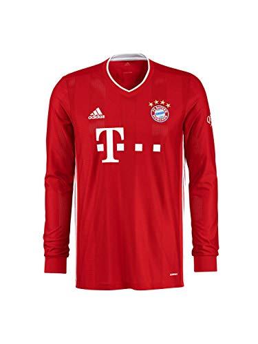 FC Bayern München Home-Trikot Langarm Saison 2020/21, Gr. XL, ohne Flock