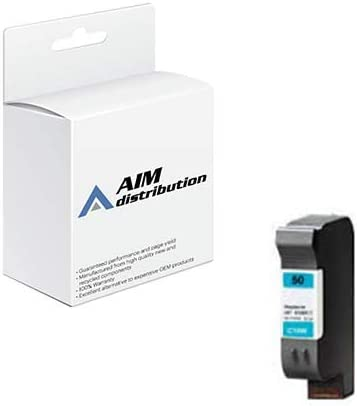 AIM Compatible Replacement for HP NO. 50 Cyan Inkjet (1600 Page Yield) (51650C) - Generic