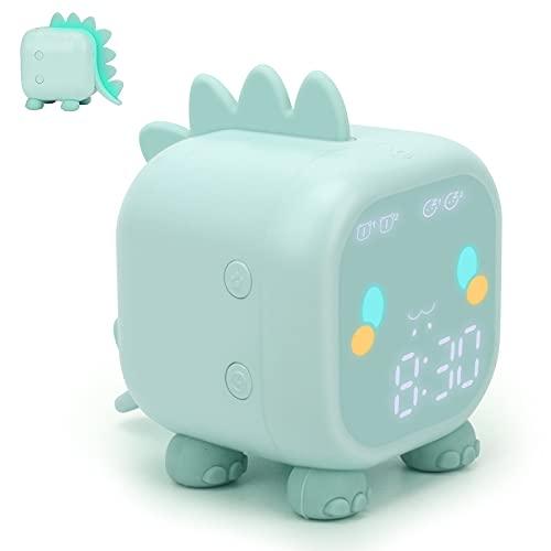 Kids Alarm Clock, Digital Alarm Clock for Kids Bedroom, Cute Dinosaur...