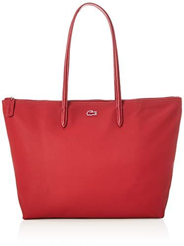 Lacoste Damen NF1888 Einkaufstasche, Alizarine, Einheitsgröße