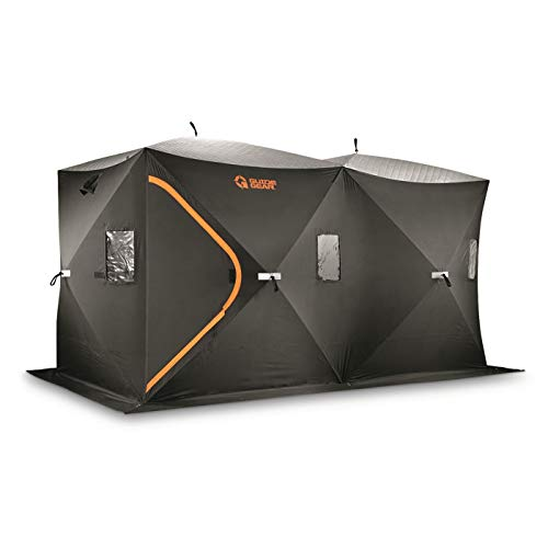 Guide Gear 6x12' Ice Shelter with Insulated Roof