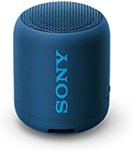 Sony Compact and Portable Waterproof Wireless Speaker with Extra Bass - Blue
