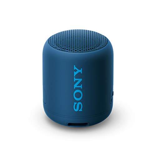 SRS-XB12 - Speaker wireless portatile con EXTRA BASS, Impermeabile e resistente alla polvere IP67, Batteria fino a 16 ore, Bluetooth, Blu