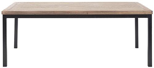 Safavieh Couchtisch, Holz, eichenfarben/schwarz, 57 x 118 x 46.48 cm