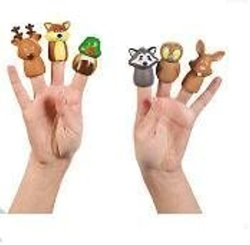 muy popular Woodland Character Finger Finger Finger Puppets by Oriental Trading  Mejor precio