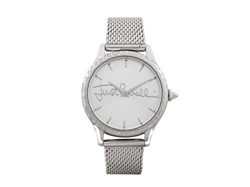 Just Cavalli Reloj Analógico para Mujer de Cuarzo con Correa en Acero Inoxidable JC1L023M0065