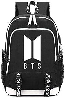 BTS Backpack Women Men Daily Backpacks Bangtan Boys Printing Laptop Backpack Teens Students School Travel Bag