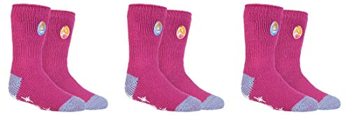 Heat Holders Thermo-Socken für Mädchen, lizenziert, Größe 27–30, 3 Paar Gr. 80, 3 Paar Disney Princess