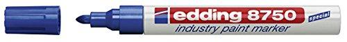 edding Lackmarker edding 8750 industry paint marker, 2-4 mm, blau
