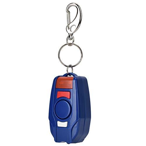 125-128dB Alarma Personal, Alarma de Llavero portátil Alarma de Seguridad de Defensa Personal de Emergencia al Aire Libre con luz LED