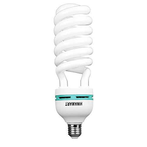 E27 5500K 135W Estudio de la Foto del Bulbo de vídeo Fotografía de luz Luz Diurna de la lámpara E27 Bombilla de 135W