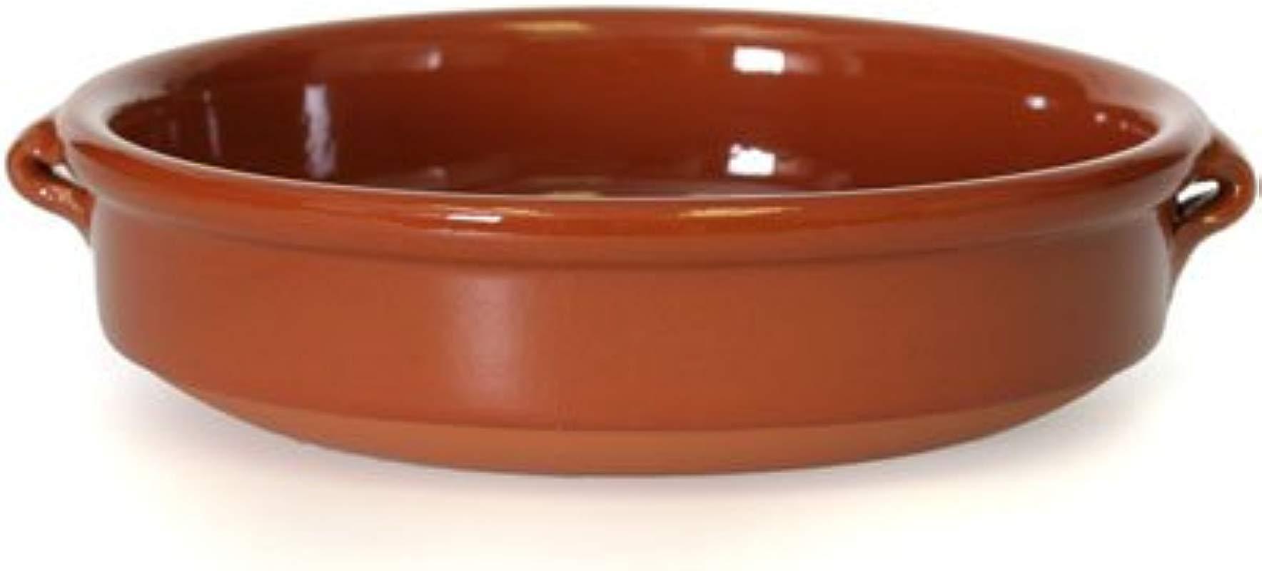 Rustic Cazuela Clay Pan 11 Inch 28 Cm