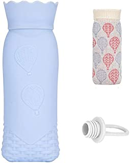 Winter Warm Silicone hot Water Bottle with Knit Cover