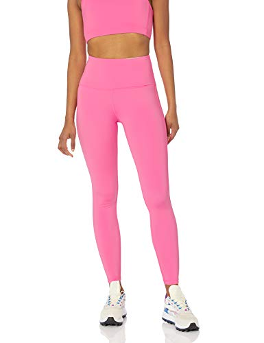 Amazon Essentials Women's High Rise Full Length Every Day Fitness Legging, Bright Pink, Small
