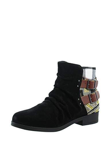 Desigual Ottawa Patch Stiefelletten/Boots Damen Schwarz - 36 - Boots Shoes