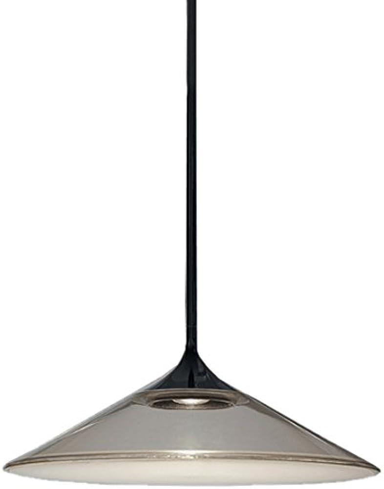 Artemide orsa 35, lampada a sospensione,in alluminio,con diffusore in metacrilato 0352030A
