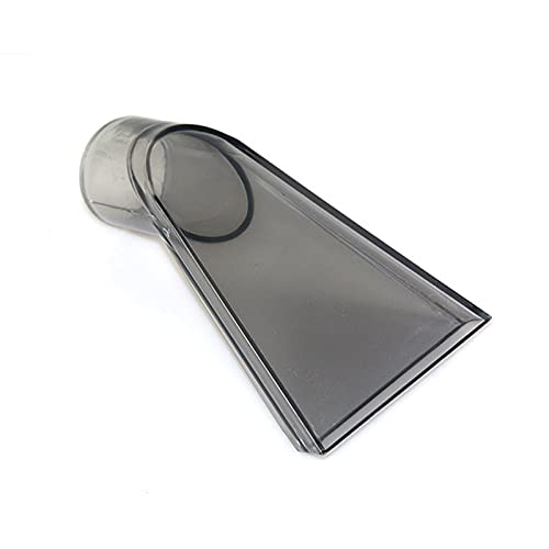 Bzocio Cepillo universal para aparatos de lavado de asientos para alfombras, apto para boquilla de agua universal para aspiradora húmeda/seca de 36 mm
