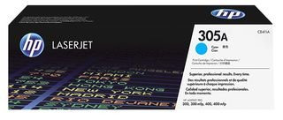 HP 305A (CE411A) Blau Original Toner für HP Laserjet Pro M351, M375nw, M451, M475