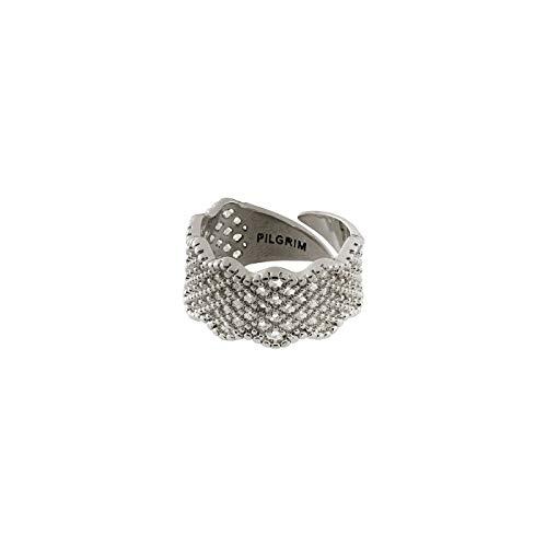 Pilgrim Ring Calia, versilbert -verstellbar