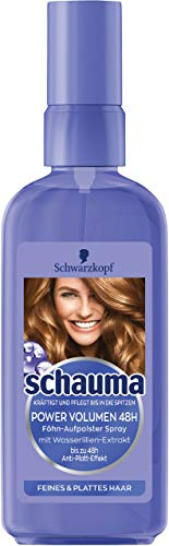 Schauma Power Volumen 48h Föhn-Aufpolster Spray, 6er Pack (6 x 100 ml)