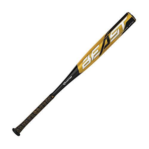 EASTON Beast Hyperlite -12 (2 1/4') USA Youth Baseball Bat | 27 inch / 15 oz | 2019 | 1 Piece Aluminum | ATAC Alloy | Lizard Skin Grip