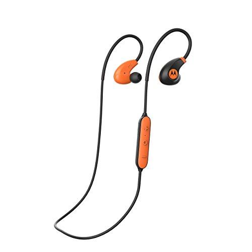 Motorola VerveLoop 2+ Bluetooth Headphones | In Ear Sport-Kopfhörer IP57 mit integriertem Ohrbügel | Große Reichweite und HD-Sound | Kompatibel mit Alexa, Siri und Google Now