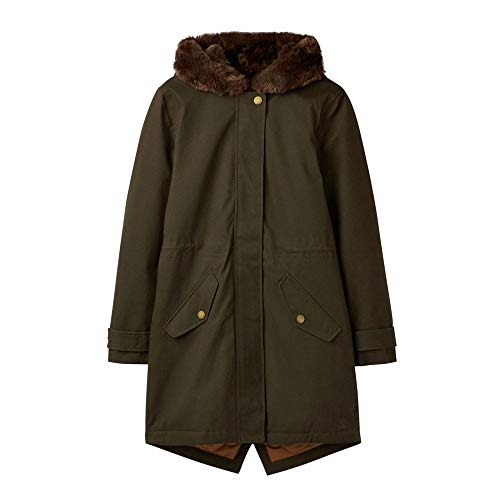 joules Piper Parka 36 Heritage Green