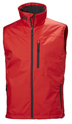 Helly Hansen Crew Vest, Chaleco deportivo para Hombre, Rojo (Rojo 222), Small