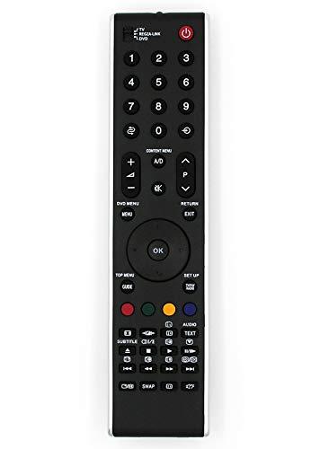 Ersatz Fernbedienung for Toshiba TV CT-90327 | CT90327 | CT-90327A | CT90327A
