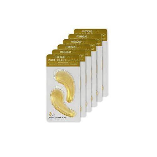 Masque BAR Pure Gold Hydro Gel Lot de 6 patchs pour les yeux