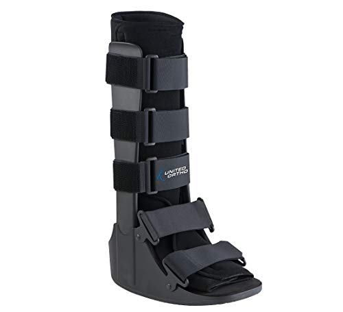 United Ortho Cam Walker Fracture Boot, Extra Small, Black