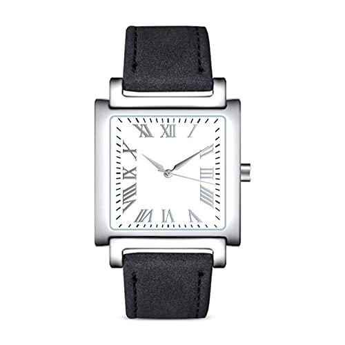 SANDA Relojes Niña,Alloy Dial Men's Belt Watch Ladies Watch Reloj para niños Relojes del cinturón PU-1