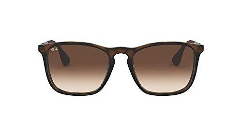Ray-Ban Herren Sonnenbrille Chris Braun (Havana Rubber 856/13) One size (54)