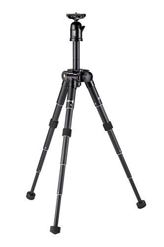 Velbon卓上三脚ULTRA453mini5段ウルトラロック脚径24mm小型自由雲台アルミ脚412768ブラック
